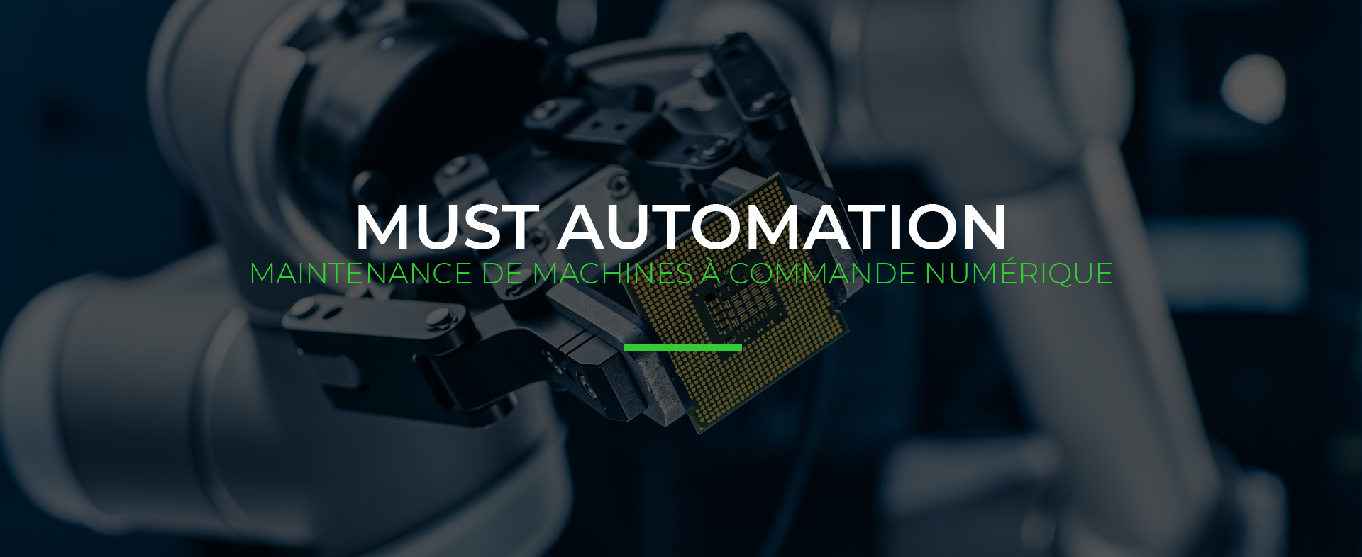 maintenance de machines à commande numérique